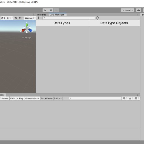 Data Manager Tool in Unity