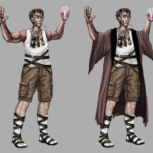 Antagonist Concept Art