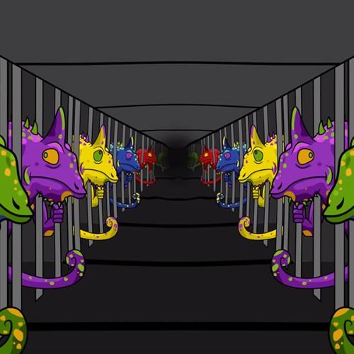 Corridor of Chameleons