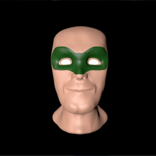 Green Lantern Head