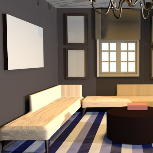 3D Modeled Room