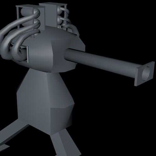Large Turret Model