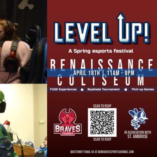 Level Up! Promotional Graphic