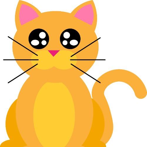 Cat for Ms. Kortz's worksheets