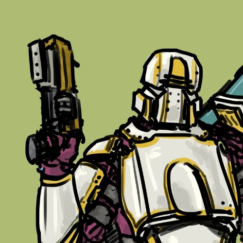 Space Mercenary Concept