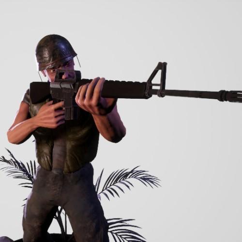 Vietnam Infantry Soldier