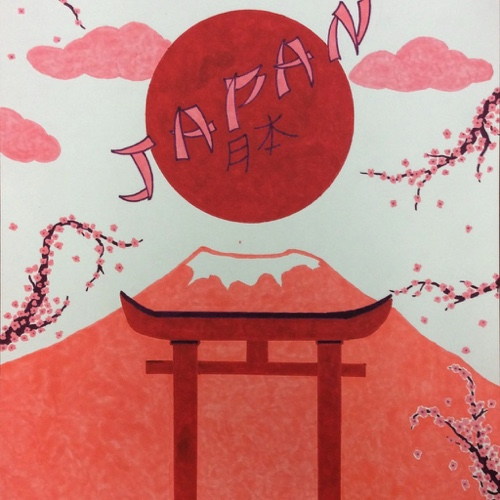 Japan Travel Poster