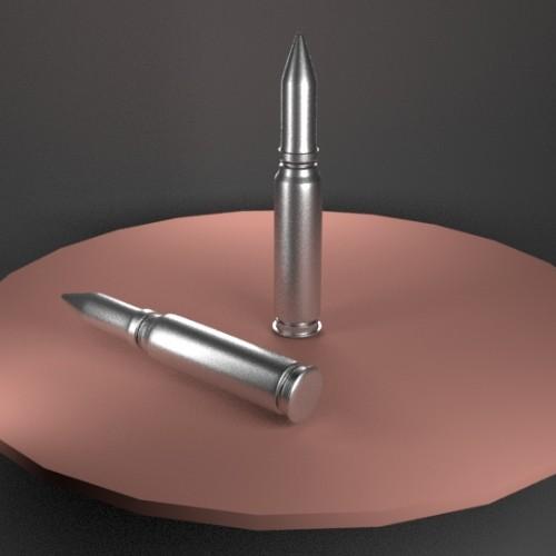 Bullet 3D Model