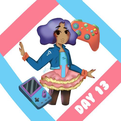 Magical Girl-Gamer